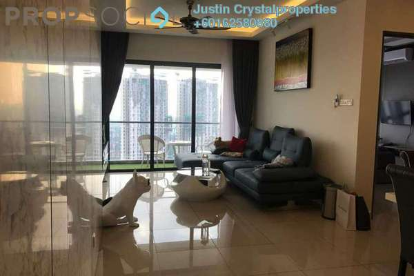 Condominium For Sale in Vila Vista, Cheras Freehold Fully Furnished 4R/3B 1.3m