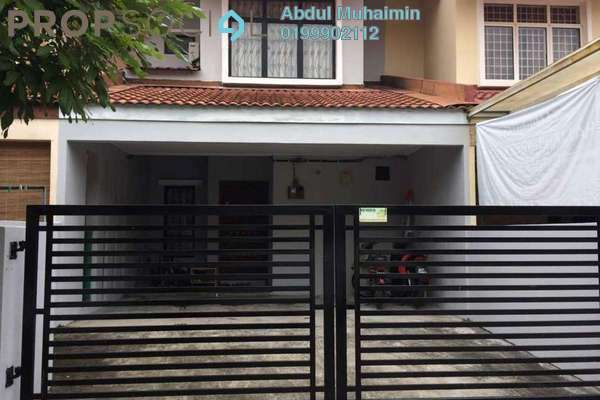 Terrace For Sale in Bandar Country Homes, Rawang Freehold Semi Furnished 4R/3B 350k