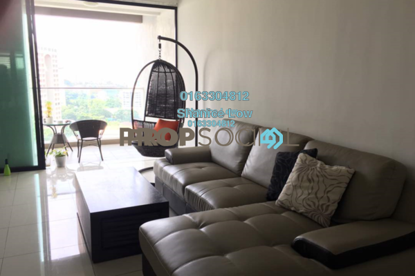 Condominium For Rent in Papillon Desahill, Taman Desa Freehold Fully Furnished 3R/3B 3.6k