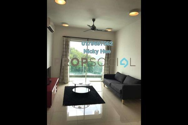 Serviced Residence For Rent in Surian Residences, Mutiara Damansara Freehold Fully Furnished 3R/3B 3.5k