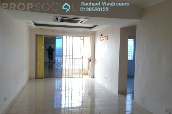 For Rent Apartment at Koi Tropika, Puchong Freehold Semi Furnished 3R/2B 1.2k