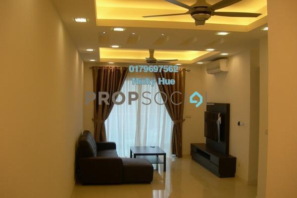 Condominium For Rent in Surian Residences, Mutiara Damansara Freehold Fully Furnished 3R/3B 4k