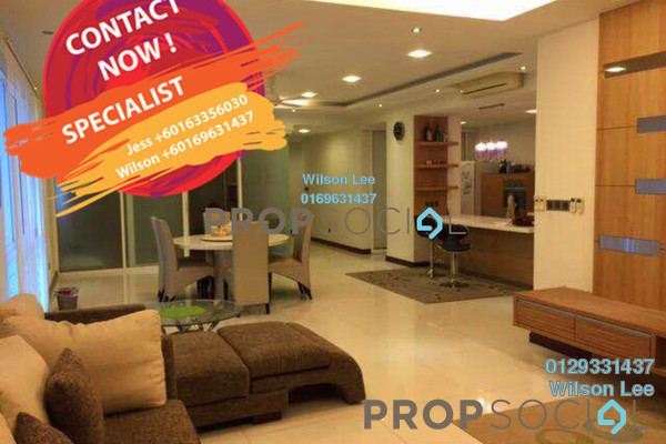 Condominium For Rent in The Northshore Gardens, Desa ParkCity Freehold Fully Furnished 3R/4B 7k
