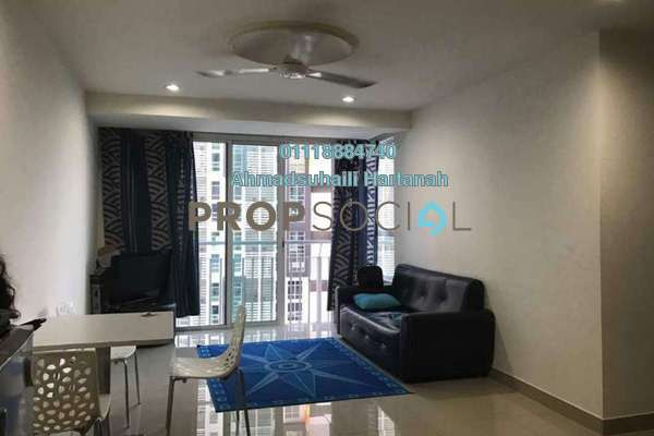 SoHo/Studio For Rent in Section 13, Shah Alam Freehold Fully Furnished 2R/1B 1.55k