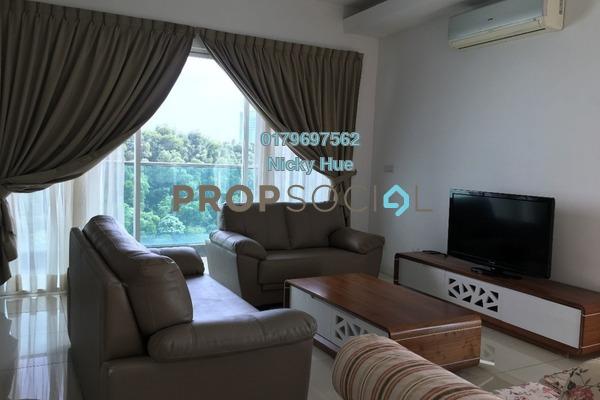 Serviced Residence For Rent in Surian Residences, Mutiara Damansara Freehold Fully Furnished 4R/5B 5k