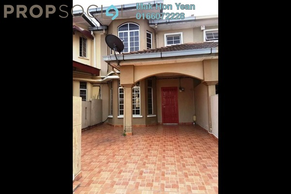 Terrace For Sale in BP1, Bandar Bukit Puchong Freehold Semi Furnished 4R/3B 495k