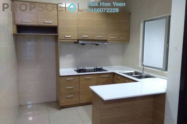 Condominium For Rent in Zen Residence, Puchong Freehold Semi Furnished 3R/2B 1.5k