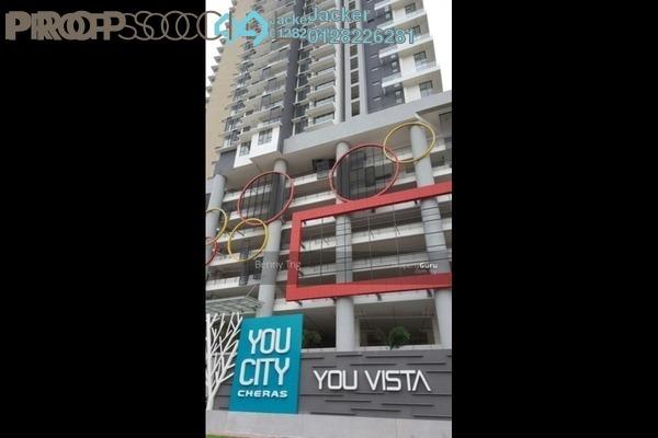 Condominium For Rent in You Vista @ You City, Batu 9 Cheras Freehold Semi Furnished 3R/2B 1.5k