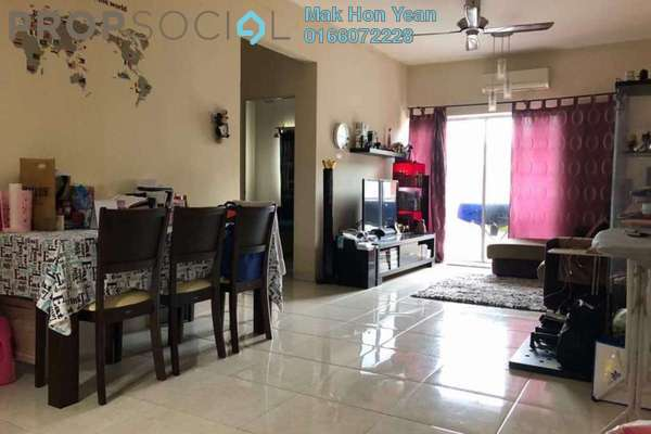 Condominium For Sale in Ketumbar Hill, Cheras Freehold Semi Furnished 3R/2B 460k