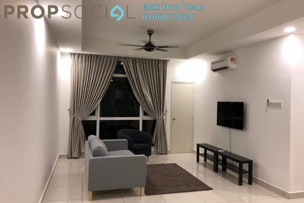 Condominium For Sale in Central Residence, Sungai Besi Freehold Semi Furnished 2R/2B 660k