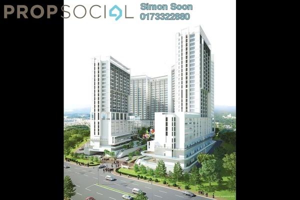 Serviced Residence For Rent in Garden Plaza @ Garden Residence, Cyberjaya Freehold Fully Furnished 3R/2B 1.29k