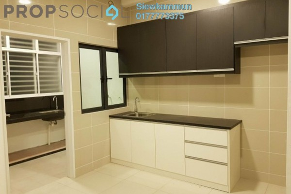 Serviced Residence For Rent in Fortune Perdana Lakeside, Kepong Freehold Semi Furnished 3R/2B 1.8k