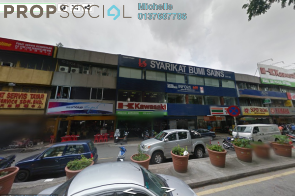 Shop For Sale in Taman Sri Kuching, Jalan Ipoh Leasehold Fully Furnished 3R/3B 2.3m