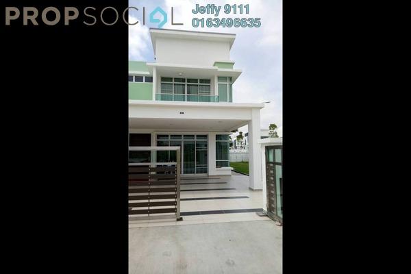 Semi-Detached For Sale in Bandar Kangkar Pulai, Pulai Freehold Unfurnished 5R/5B 740k