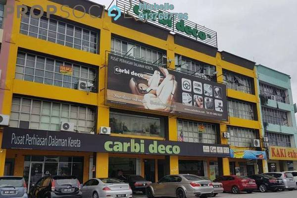 Shop For Sale in IOI Business Park, Bandar Puchong Jaya Freehold Semi Furnished 4R/4B 2.8m