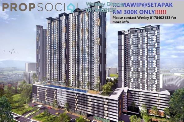 Condominium For Sale in Vista Langkawi @ PV18, Setapak Leasehold Unfurnished 3R/2B 300k