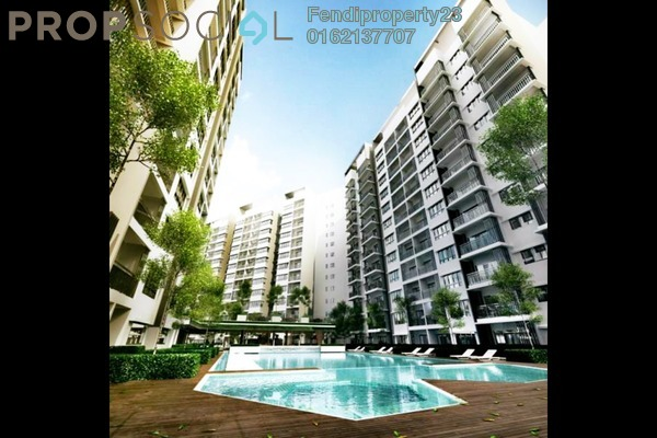 Condominium For Rent in Suria Ixora, Setia Alam Freehold Fully Furnished 3R/2B 700translationmissing:en.pricing.unit