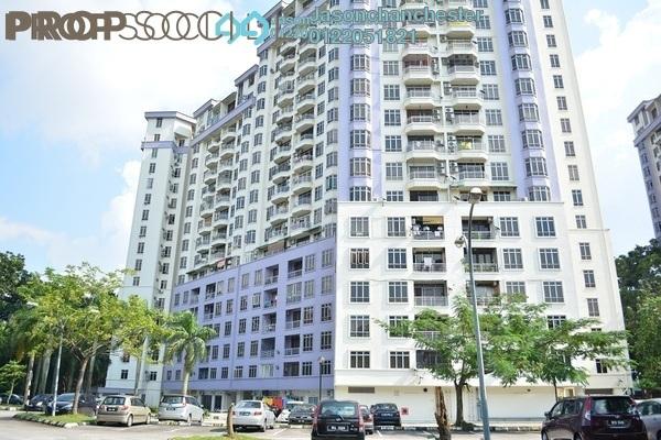 Condominium For Sale in Impian Heights, Bandar Puchong Jaya Freehold Semi Furnished 3R/2B 420k