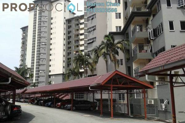 Condominium For Rent in Union Heights, Old Klang Road Freehold semi_furnished 3R/2B 1.3k