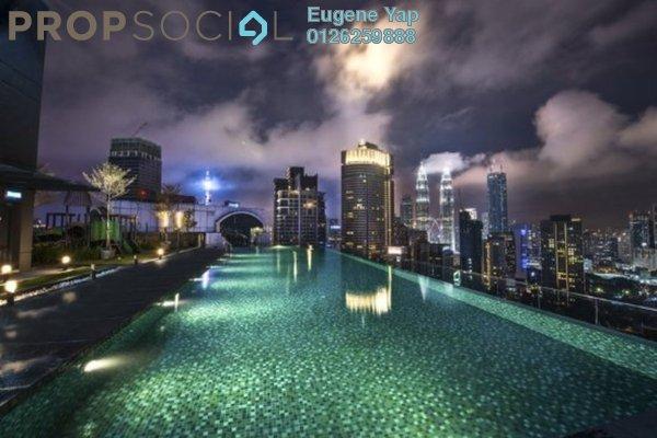 Condominium For Rent in Dorsett Residences, Bukit Bintang Freehold Fully Furnished 1R/1B 3.5k