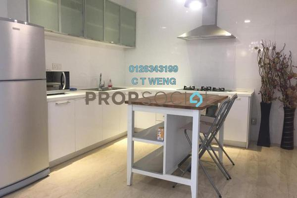 Condominium For Rent in Idaman Residence, KLCC Freehold Fully Furnished 3R/5B 6k