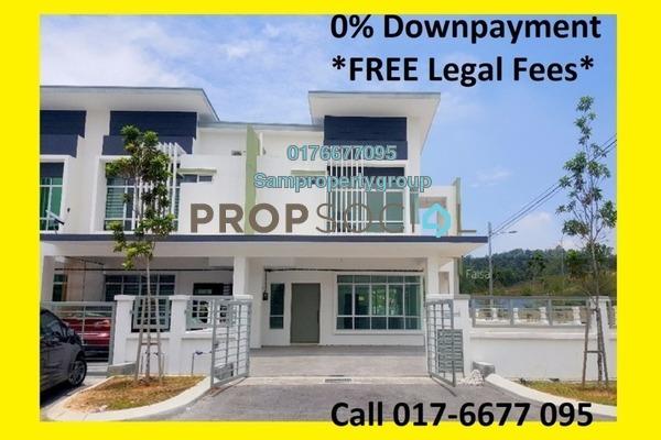 Terrace For Sale in Tamara, Putrajaya Freehold Unfurnished 4R/4B 499k