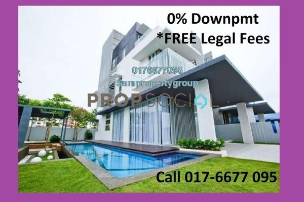 Semi-Detached For Sale in Saujana Aster, Putrajaya Freehold Unfurnished 5R/5B 980k