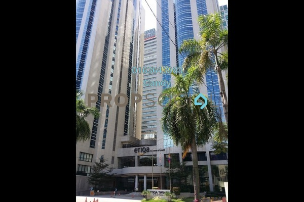 Office For Rent in Etiqa Twins, KLCC Freehold Unfurnished 0R/0B 54k