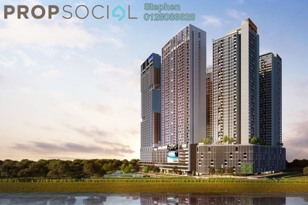 Condominium For Sale in Millerz Square, Old Klang Road Freehold Semi Furnished 3R/2B 650k