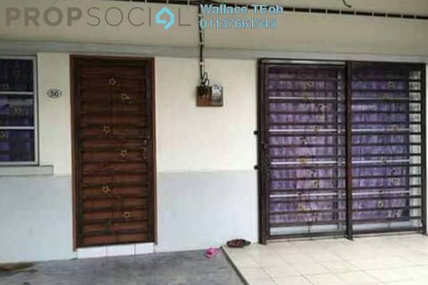 Terrace For Sale in Taman Sungai Kapar Indah, Kapar Freehold Unfurnished 4R/3B 390k