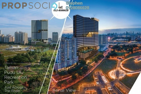 Condominium For Sale in Parc 3, Cheras Leasehold Semi Furnished 4R/3B 410k