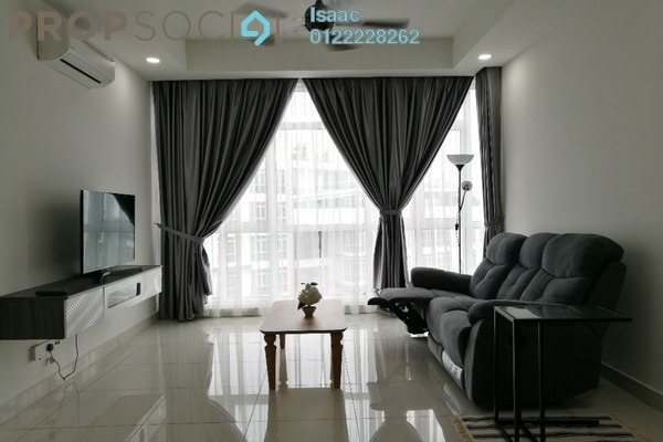 Condominium For Rent in The Court, Sungai Besi Freehold Fully Furnished 2R/2B 2.2k