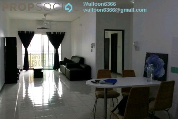 Condominium For Rent in Metropolitan Square, Damansara Perdana Freehold Semi Furnished 3R/2B 1.8k