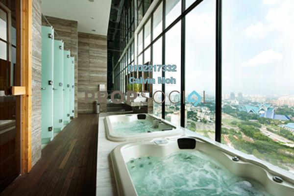 Condominium For Sale in Setia Sky Residences, KLCC Freehold Semi Furnished 1R/1B 800k