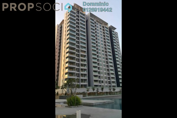 Condominium For Rent in Paragon 3, Bandar Putra Permai Freehold Fully Furnished 3R/2B 2.1k