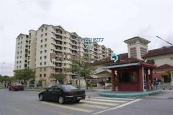 Apartment For Rent in Perdana Apartment, Shah Alam Freehold Unfurnished 3R/2B 1.1k