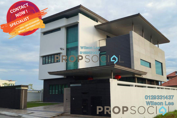 For Sale Bungalow at ParkCity Heights, Desa ParkCity Freehold Fully Furnished 5R/6B 8.4m