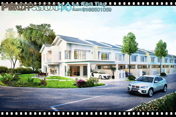 Terrace For Sale in Persada Iklas, Bandar Enstek Freehold Unfurnished 5R/4B 564k