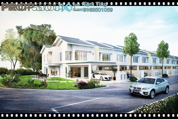 Terrace For Sale in Green Beverly Hills, Putra Nilai Freehold Unfurnished 5R/4B 564k
