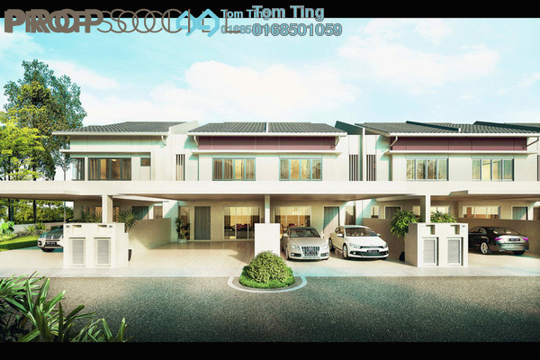 Terrace For Sale in Sendayan Merchant Square, Bandar Sri Sendayan Freehold Unfurnished 5R/4B 564k
