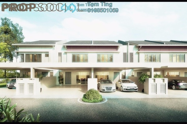 Terrace For Sale in Garden City Homes, Seremban 2 Freehold Unfurnished 5R/4B 564k