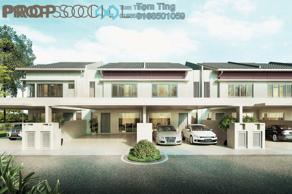 Terrace For Sale in Oakland Commercial Centre, Seremban Freehold Unfurnished 5R/4B 564k