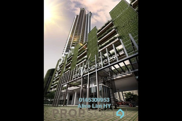 Condominium For Sale in Setia V Residences, Gurney Drive Freehold Semi Furnished 2R/2B 2.1m