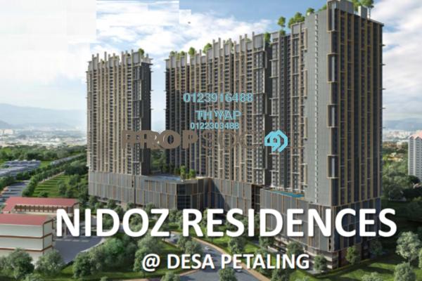 Condominium For Sale in Nidoz Residences, Desa Petaling Leasehold Semi Furnished 4R/2B 835k