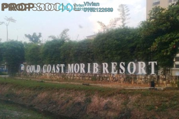 For Sale Serviced Residence at Sepang Gold Coast, Sepang Freehold Fully Furnished 1R/1B 130k