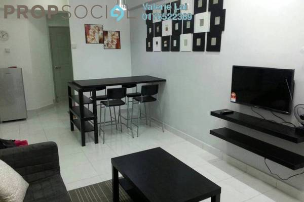 Serviced Residence For Rent in Main Place Residence, UEP Subang Jaya Freehold Fully Furnished 2R/1B 1.45k
