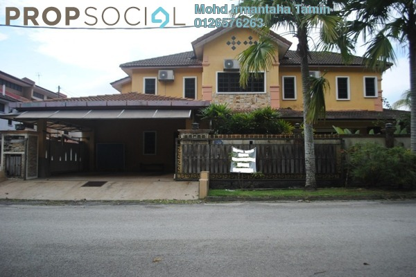 Terrace For Sale in Bandar Country Homes, Rawang Freehold Semi Furnished 4R/3B 699k