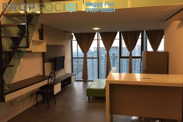 For Rent Condominium at Empire Damansara, Damansara Perdana Freehold Fully Furnished 1R/2B 1.7k