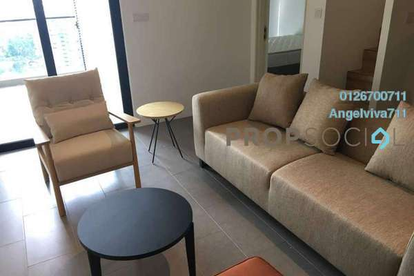 Serviced Residence For Rent in The Establishment, Brickfields Freehold Fully Furnished 2R/2B 2.8k