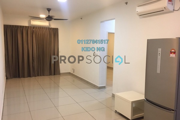 Condominium For Sale in Austin Suites, Tebrau Freehold Semi Furnished 1R/1B 310k